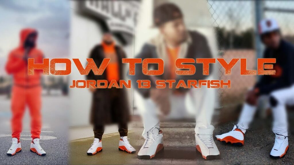 Air Jordan 13 'STARFISH' HOW TO STYLE / outfit ideas