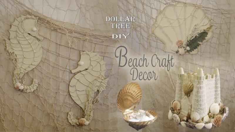 Beach Craft Decor / Dollar Tree Craft