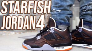 COP OR NOT ?!? JORDAN 4 STARFISH REVIEW AND ON FOOT IN 4K !!!