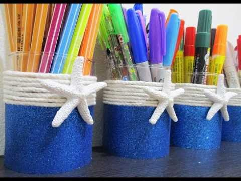 DIY #225 | Starfish Ocean Pencil Holder ❤