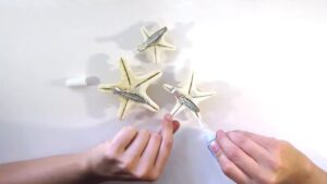 DIY Starfish Hair Clips
