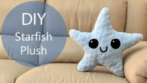 DIY Starfish Plush | with Free Templates