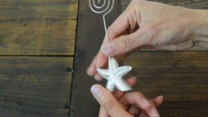 Fashioncraft Starfish Placecard Holder (FC_5391)
