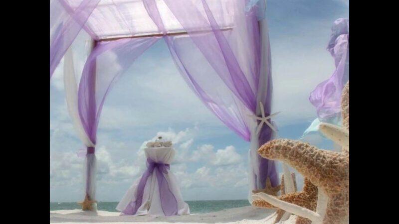 Florida Beach Weddings - Starfish Decor by Suncoast Weddings