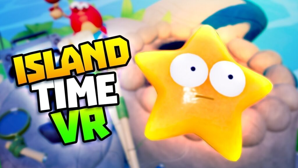 GOLD STARFISH & SURVIVING OVER 20 MINUTES – Island Time VR Gameplay – VR HTC Vive Gameplay