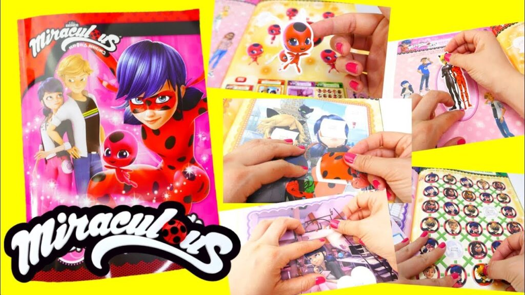 Miraculous Ladybug Coloring Book and Activities and Stickers