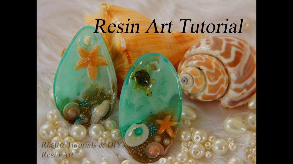 Ocean from Resin – Turtle in Resin – Starfish in Resin – DIY Aquarium with Resin