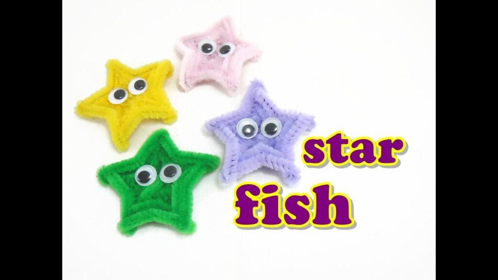 Pipe Cleaner Craft – Starfish