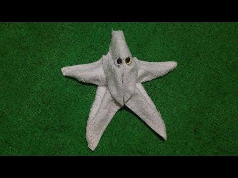 STAR FISH / SEA STAR – MY TOWEL CREATION