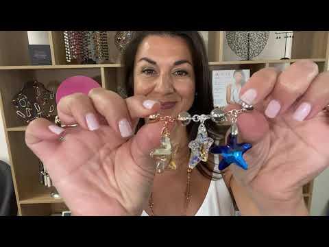 Starfish Crystal Pendant – – 10 Way Necklace – Maria Nicola