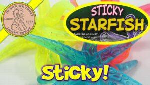 Sticky Starfish Tumblin Fun Novelty Kids Toy