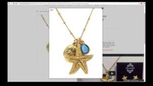 Summer Starfish Jewelry, Purse and Accessories Fashion Fun