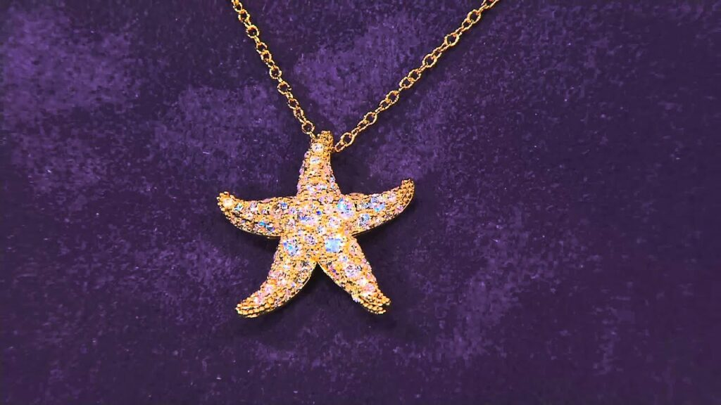 The Elizabeth Taylor Starfish Necklace on QVC