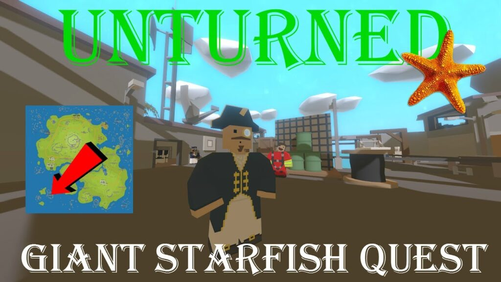Unturned – Giant Starfish (Hawaii Quest Guide)
